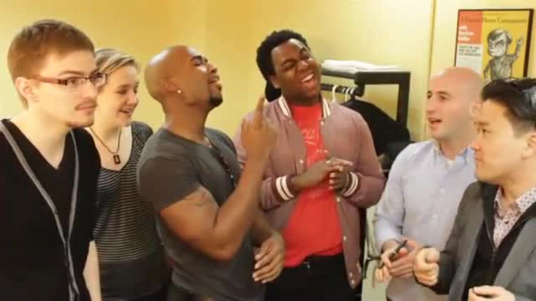 Duwende - Ain't No Stoppin' Us Now (A Cappella rehearsal)