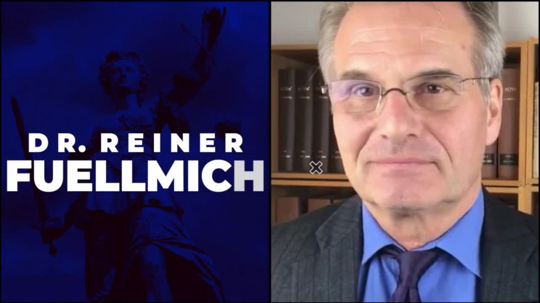 Dr. Reiner Fuellmich: scientific evidence that covid is crime against humanity